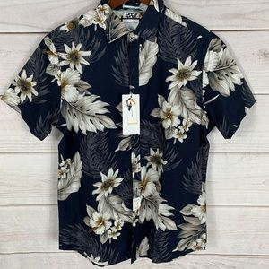 Denim & Flower Mens Size M Short Sleeve Shirt